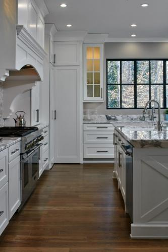 Architect Stephen Fuller Created New Elevations | Studio Entourage Designed the Kitchen