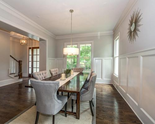Carolyn -Dining Room Wainscoting