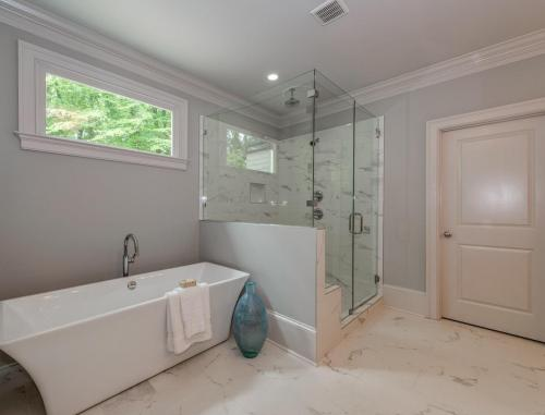 Carolyn -Master Shower  Freestanding Tub