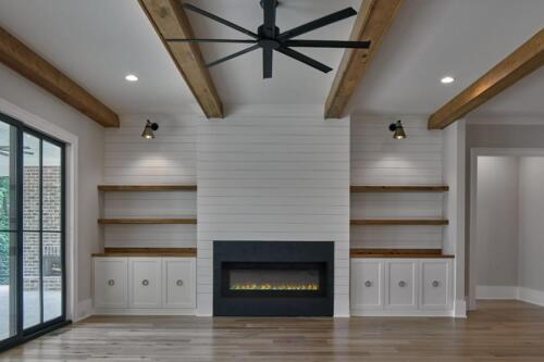 Modern Farmhouse | New Homes Decatur GA | Interior Finishes by Studio Entourage